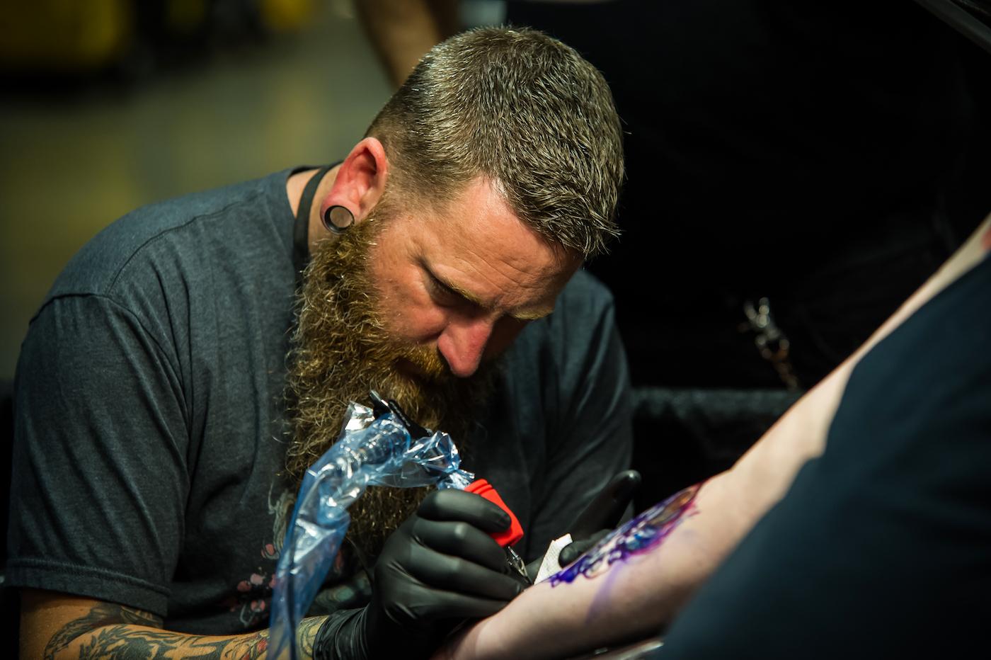 Capital City Bikefest - tattofest