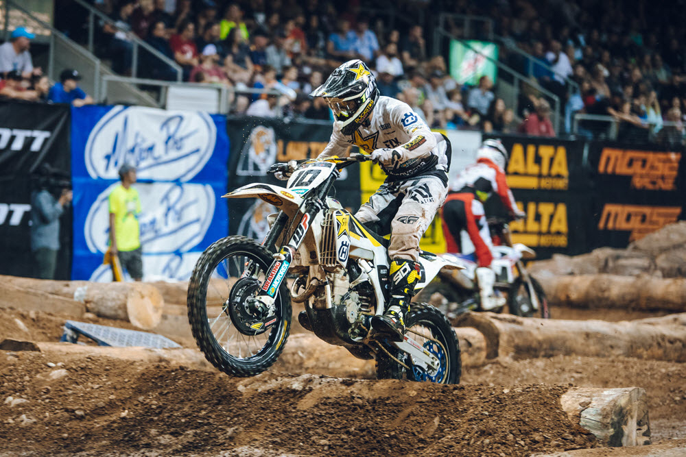 Colton Haaker had a good round one of EnduroCross