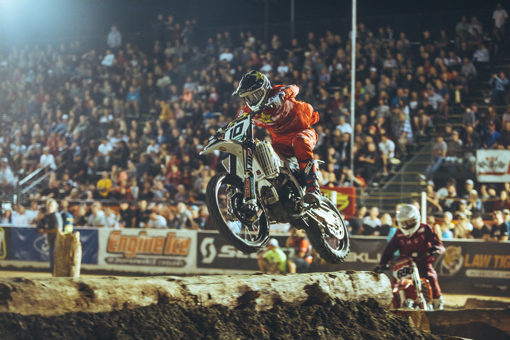 Colton Haaker took his first win of the season in Costa Mesa