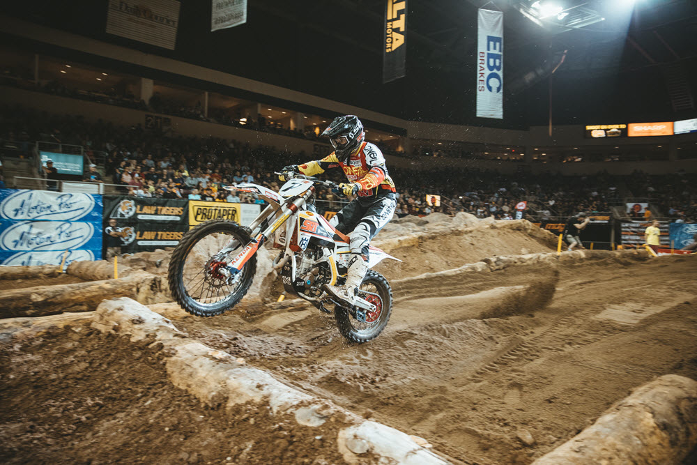 EnduroCross - Kyle Redmond is always a podium threat