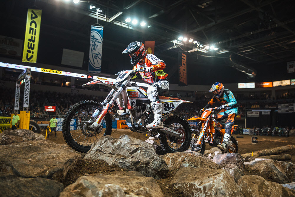 EnduroCross - Trystan Hart is getting closer to Webb and Haaker