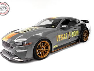 Las Vegas Golden Knights-Themed Charity Car - Barrett-Jackson