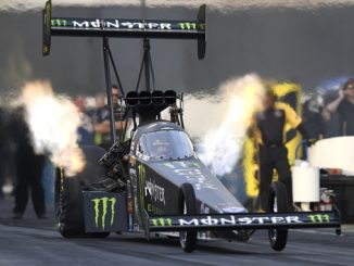 NHRA Top Fuel Brittany Force - action