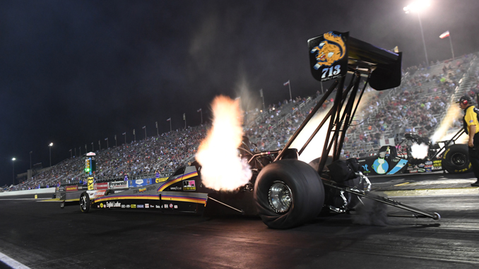 NHRA Top Fuel Mike Salinas Indy - U.S. Nationals 2018