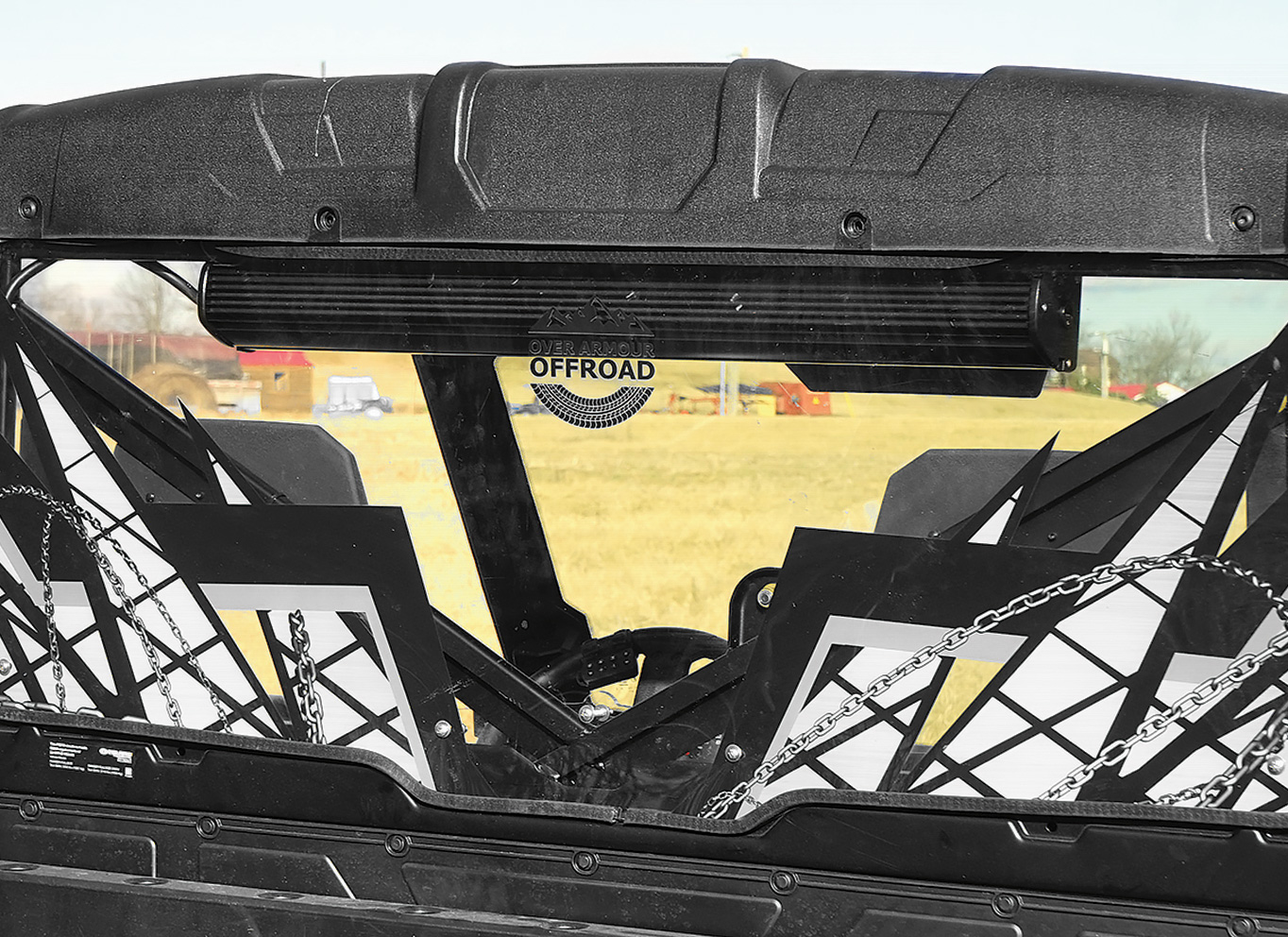 Over Armour Offroad - PRINTED AND CLEAR HARD-COATED REAR PANELS