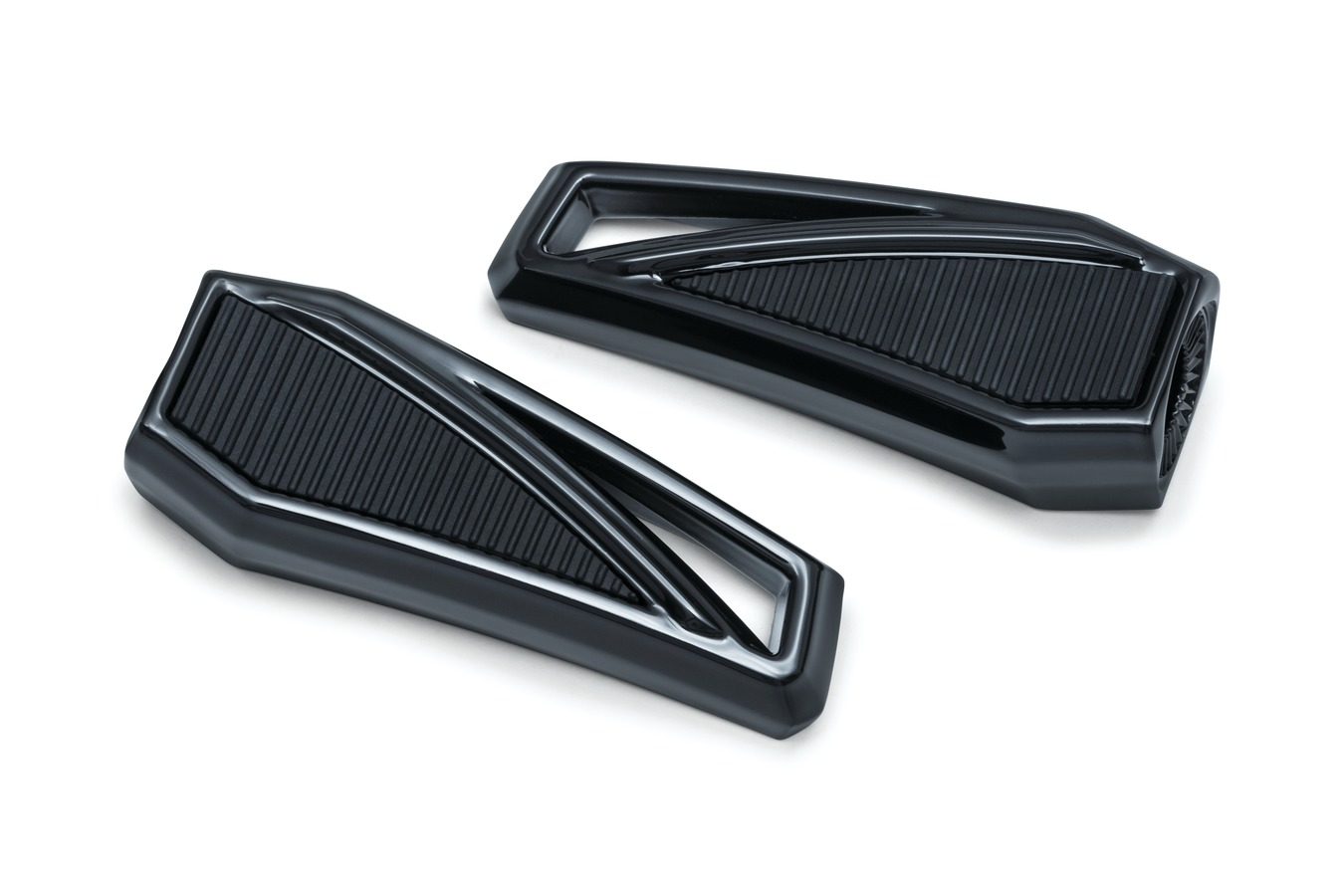 Phantom Collection Footpegs without Adapters, Gloss Black