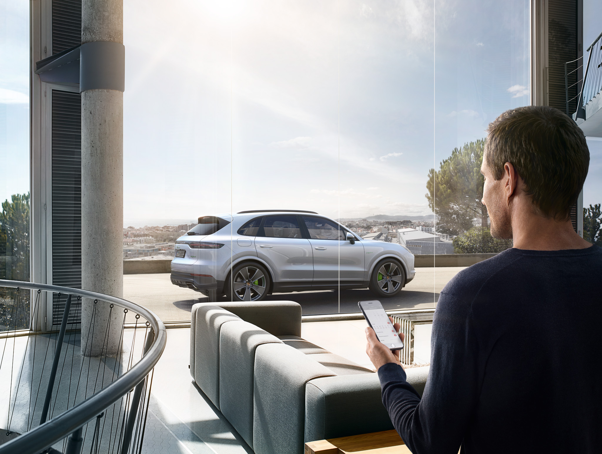 Porsche Drive, Cayenne