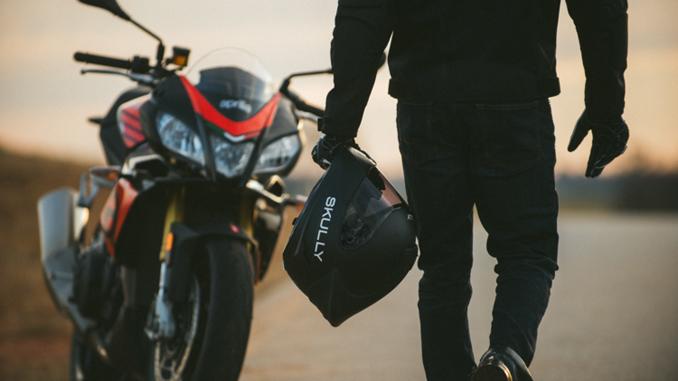 SKULLY Technologies - Smart Helmet - Fenix_ar-matte