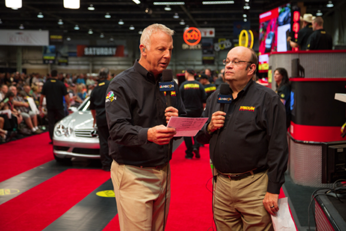 Scott Hoke and John Kraman Hosts and Commentators for Mecum Auctions' broadcasts on NBC Sports Network