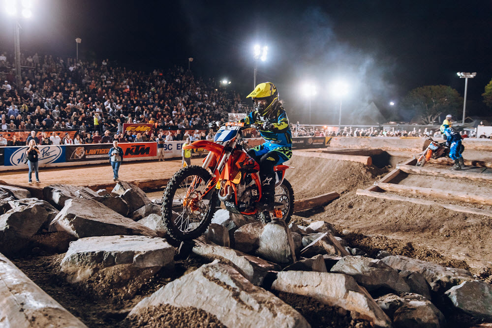 Shelby Turner had a great race to get the women's class win in Costa Mesa