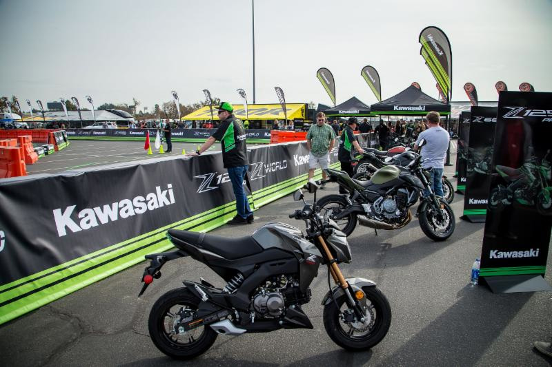 he 2018 Monster Energy Cup will feature the Kawasaki Z World consumer demo inside of the Pit Party