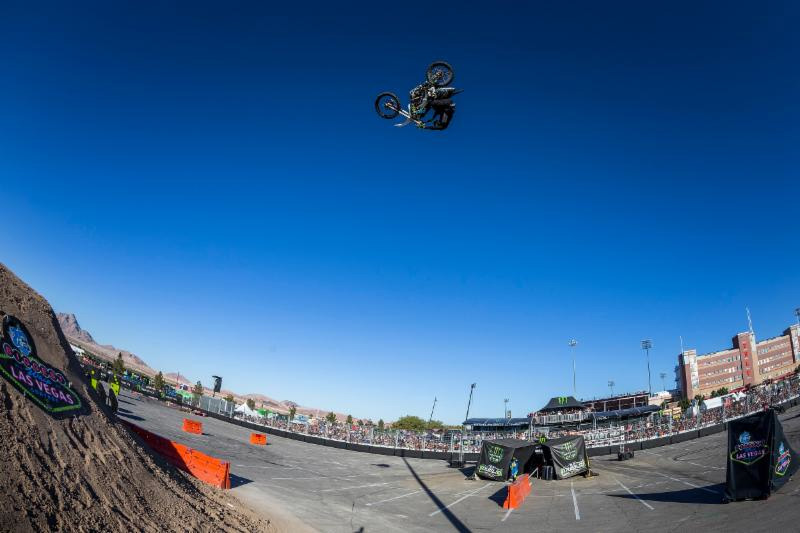 The Dirt Shark Biggest Whip Contest at the 2018 Monster Energy Cup