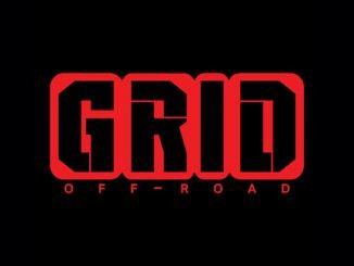 grid off-road logo black red