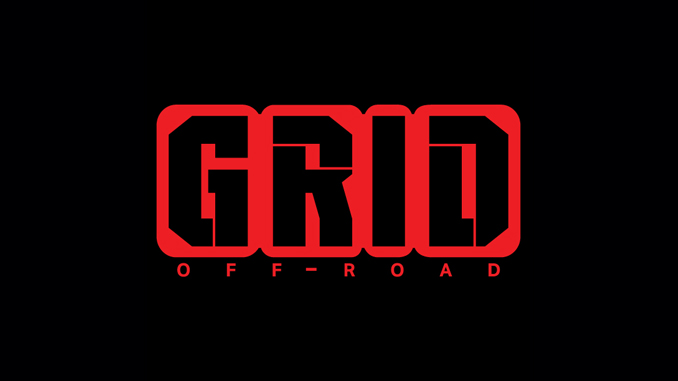 grid off-road logo black red