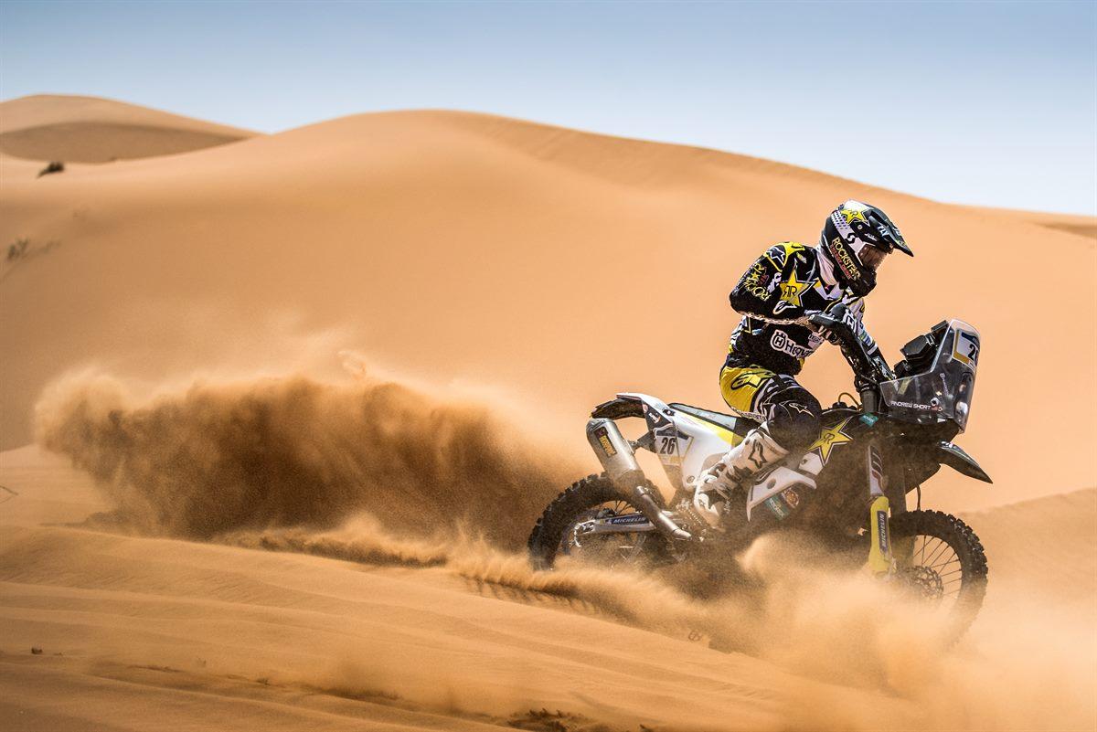 Pablo Quintanilla - Rockstar Energy Husqvarna Factory Racing - Morocco Rally - 2