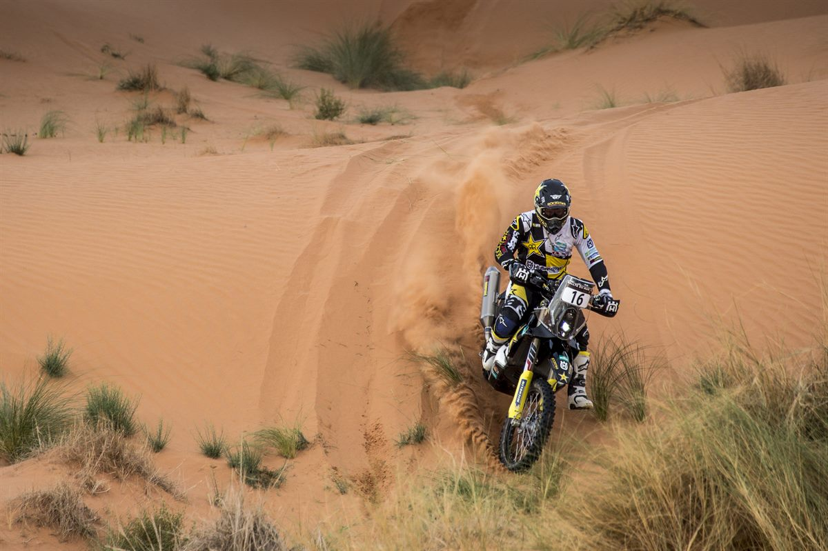 Andrew Short – Rockstar Energy Husqvarna Factory Racing - Morocco Rally