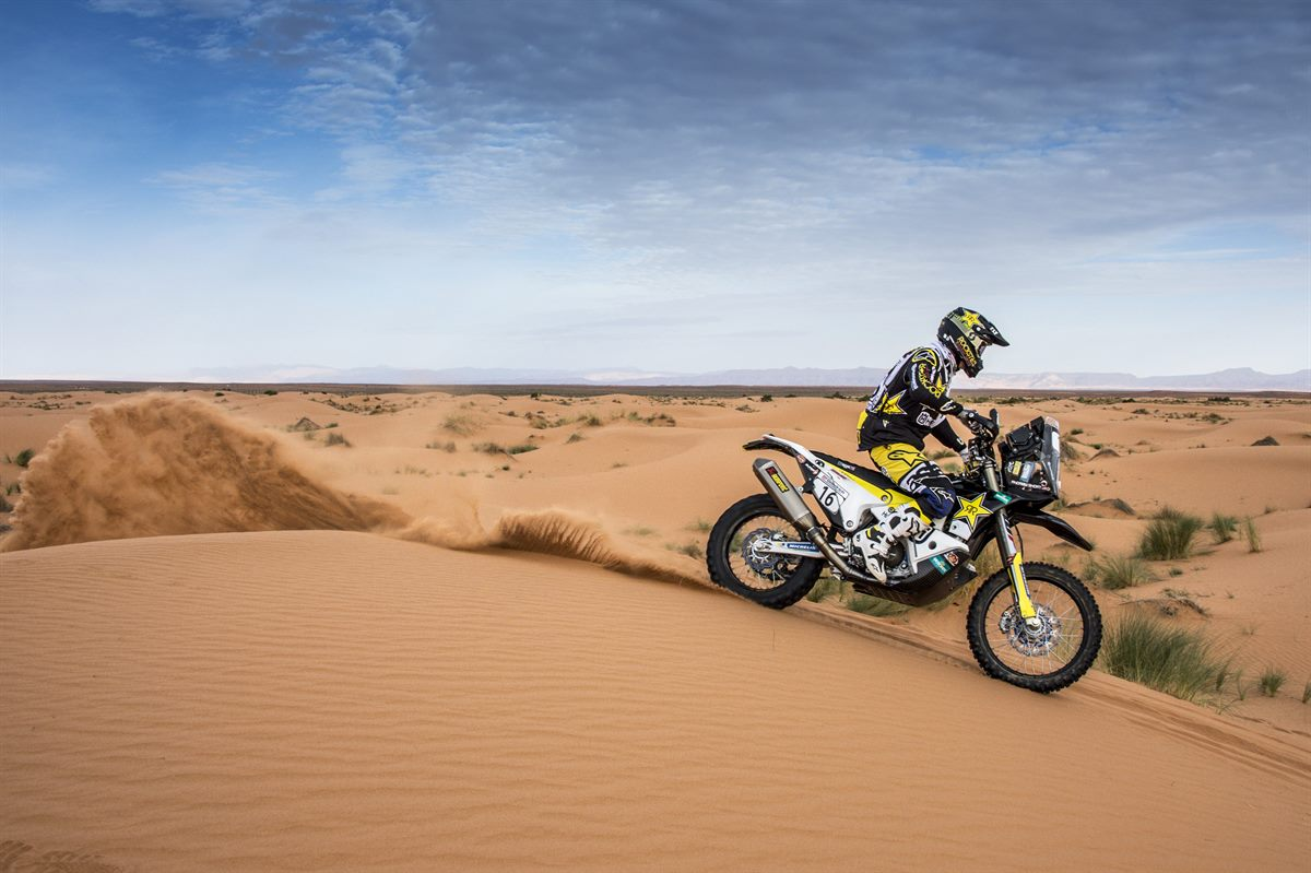 Andrew Short – Rockstar Energy Husqvarna Factory Racing - Morocco Rally