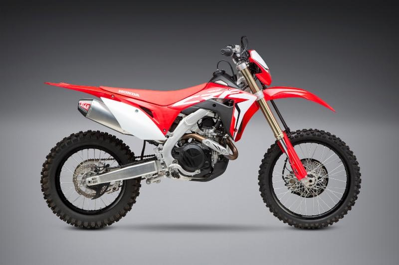 2019 Honda CRF450X with Yoshimura RS-4 SO SS-AL-CF
