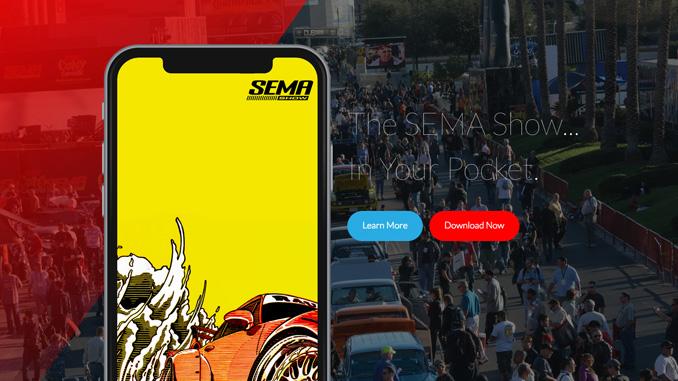 SEMA Show Mobile App