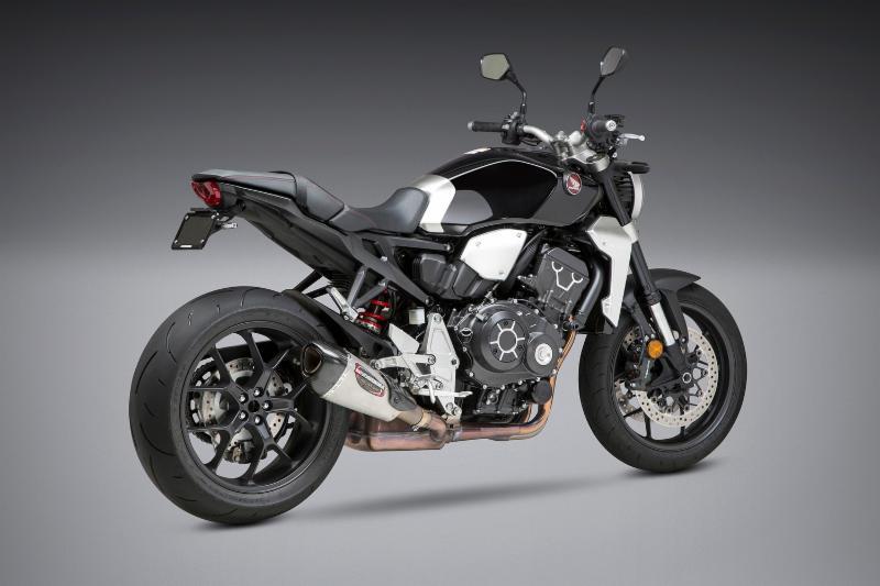 2018 Honda CB1000R with Yoshimura Alpha T SO SS-SS-CF