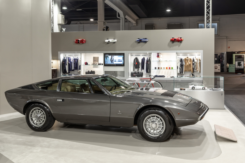 Maserati Padova Salone Auto d'Epoca 2018 Khamsin