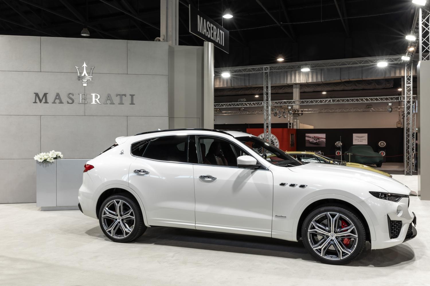 Maserati Padova Salone Auto d'Epoca 2018 Levante
