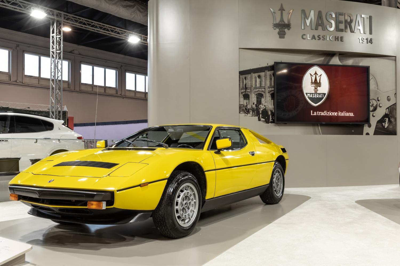 Maserati Padova Salone Auto d'Epoca 2018 Merak SS Turbo