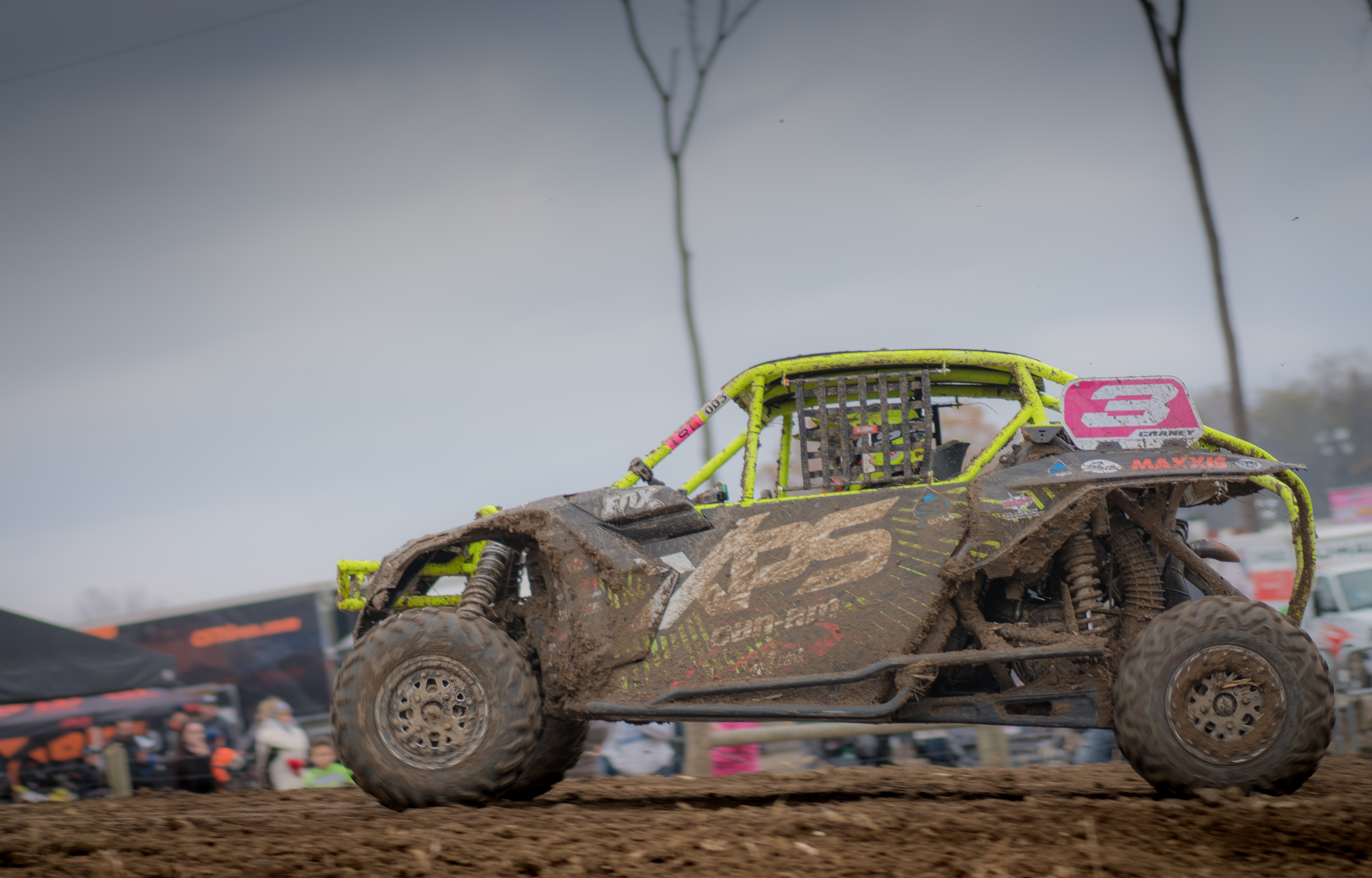 Can-Am BRP Chaney Ironman Win