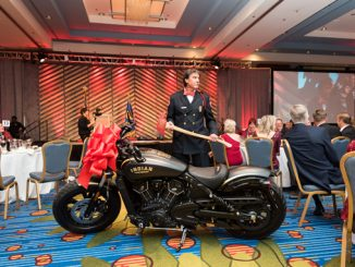Firefighters For Healing Auction Indian Scout Bobber