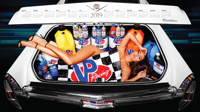 VP Racing Fuels 2019 Calendar at SEMA