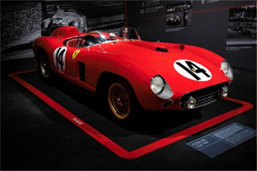 1956 Ferrari 290 MM offered by RM Sotheby's in Los Angeles