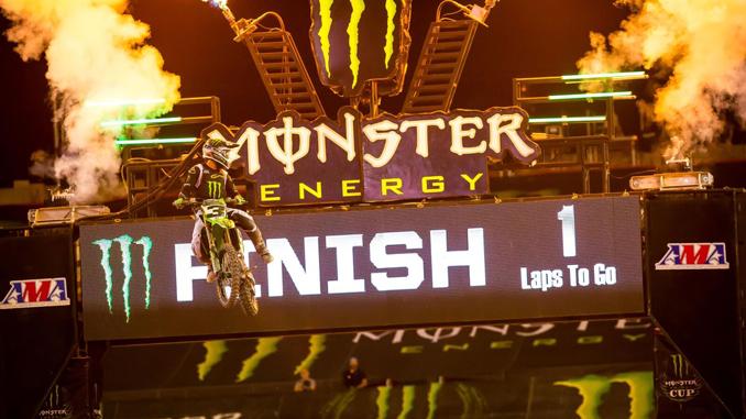 2018 Monster Energy Cup - Monster Energy Kawasaki's Eli Tomac WINS $1 Million