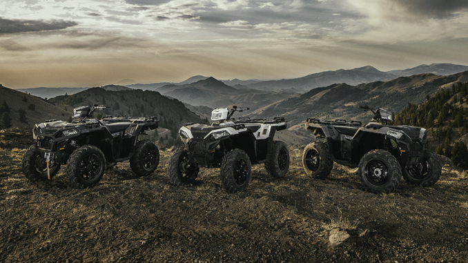2019 Polaris sportsman 850 family