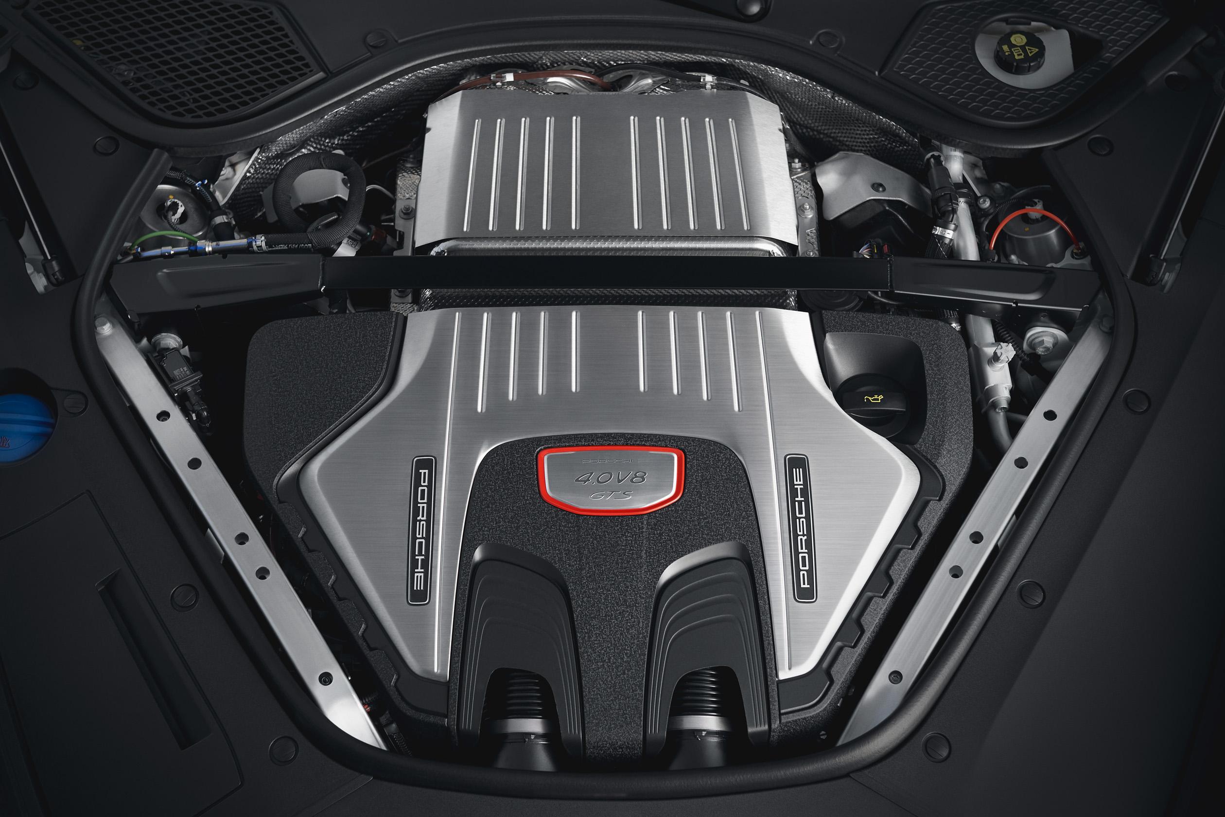 2019 Porsche Panamera GTS- 4.0-litre V8 biturbo engine