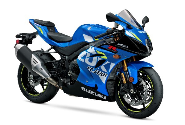 2019 Suzuki GSX-R1000R in Metallic Triton Blue