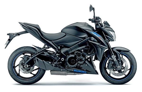 2019 Suzuki GSX-S1000Z in Metallic Matte Black