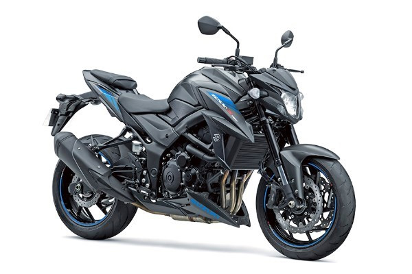 2019 Suzuki GSX-S750 in Metallic Matte Black