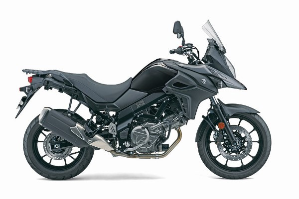 2019 Suzuki V-Strom 650 in Glass Sparkle Black