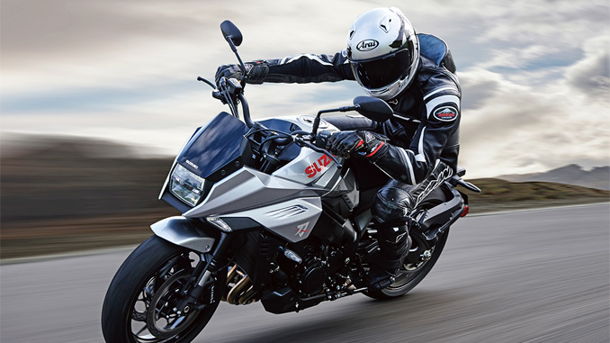 2020 Suzuki KATANA in action