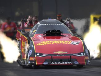 AAA Texas NHRA Fallnationals - Funny Car - Courtney Force - action