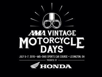 AMA 2019 Vinateg Motorcycle Days presented by HONDA logo