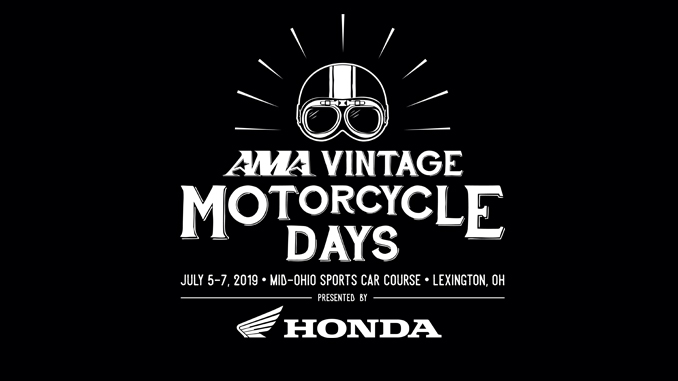 AMA 2019 Vinateg Motorcycle Days presented by HONDA logo