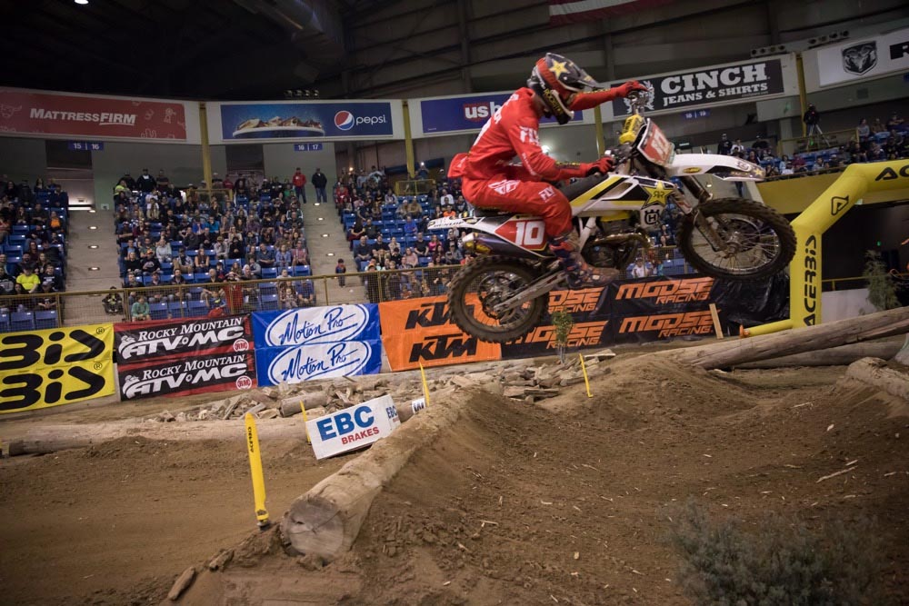 Denver Endurocross - Colton Haaker took the win