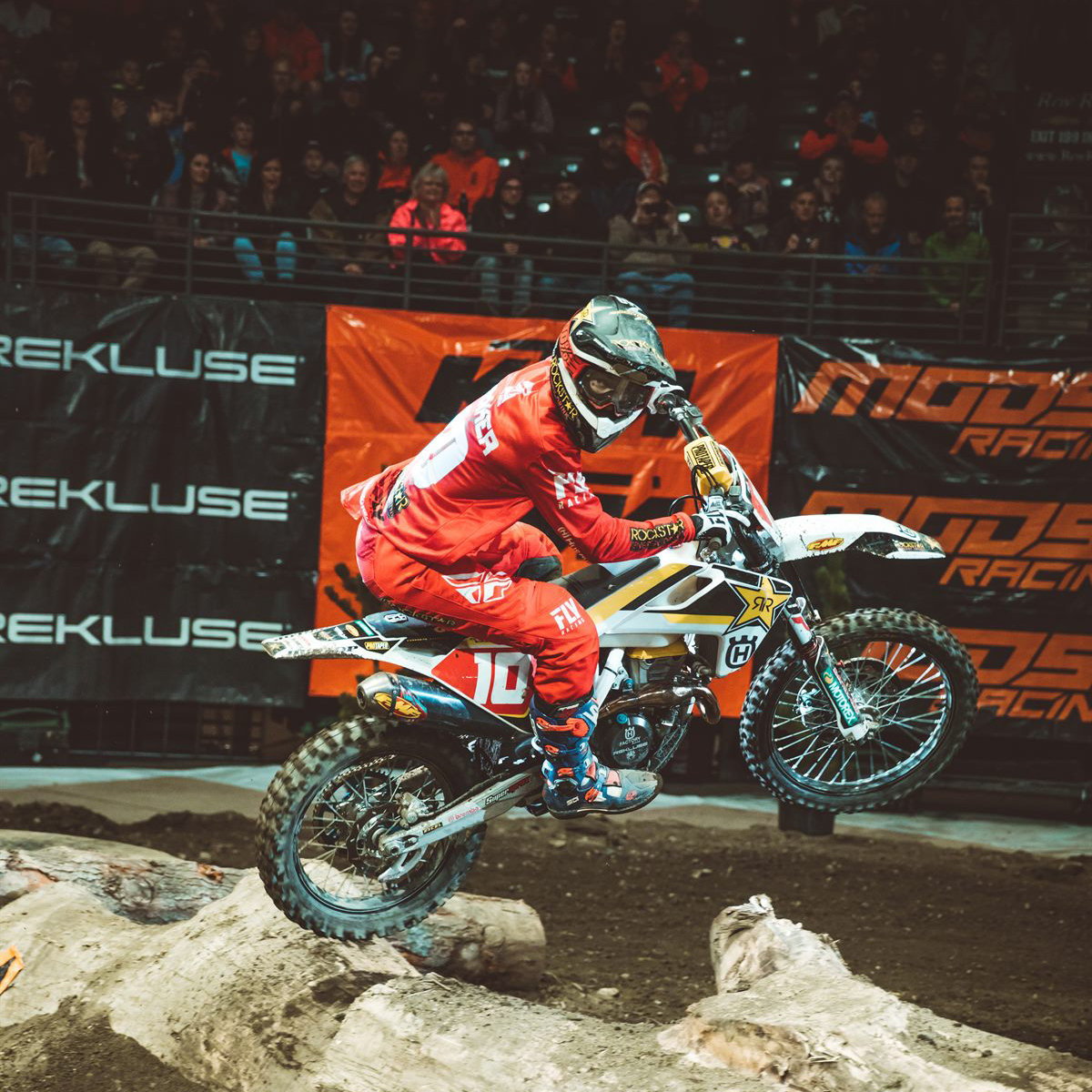 Everett EnduroCross - Rockstar Energy Husqvarna Factory Racing Off Road's Colton Haaker (Photo- Tanner Yeager) -1