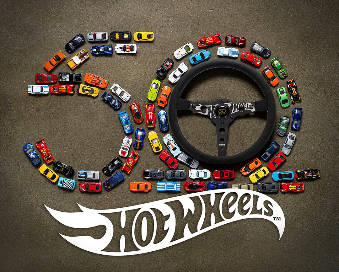 MOMO celebrates Hot Wheels 50th Anniversary with limited edition steering wheel