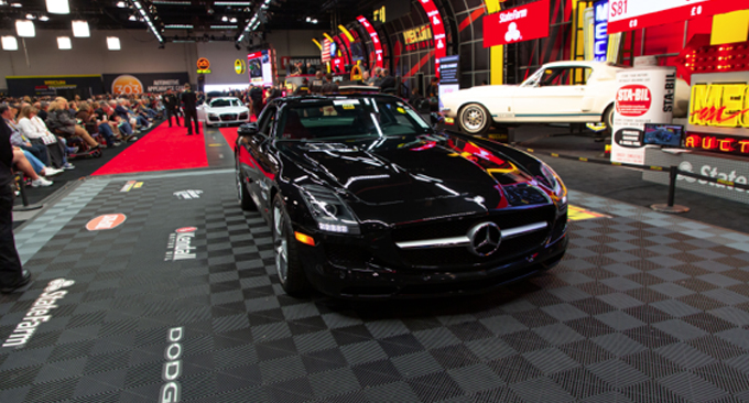 Mecum Chicago - 2012 Mercedes-Benz SLS AMG 6.2L-563 HP 2060 Miles (Lot S80)
