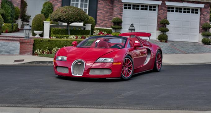 Mecum Las Vegas 2012 Bugatti Veyron Grand Sport 16.4 2011 Frankfurt Motor Show Car (Lot S96)