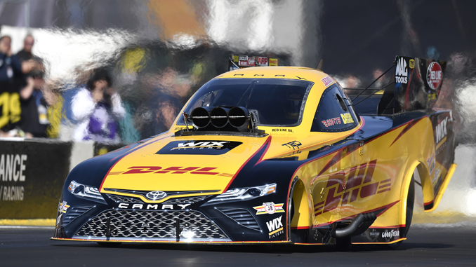 NHRA Toyota Nationals - Funny Car - J.R. Todd - action