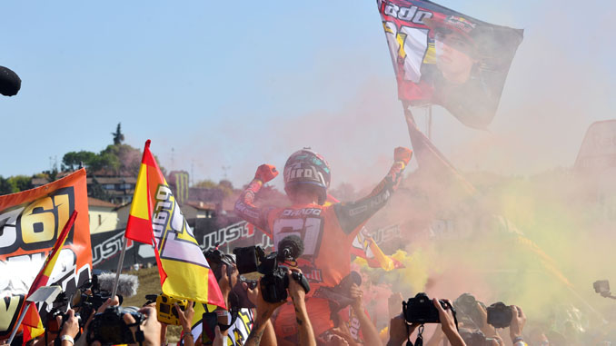 Pirelli Celebrates Motocross MX2 Title with Jorge Prado at the Grand Prix of Italy in Imola