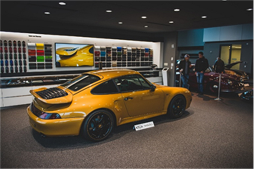 Porsche Sale - Project Gold on display during preview for RM Sotheby's Porsche 70th Anniversary Auction